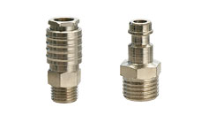 Quick couplings for compressed air